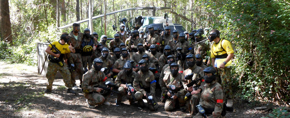 Black Hawk Down Delta Force Paintball game zone